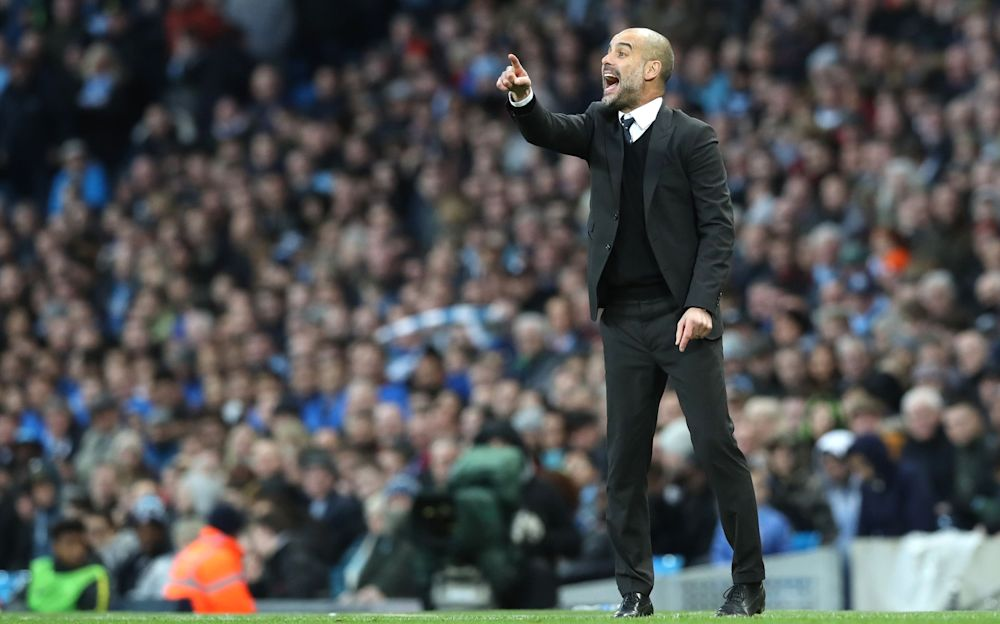 Guardiola was extremely animated on the touchline against Liverpool - PA Wire