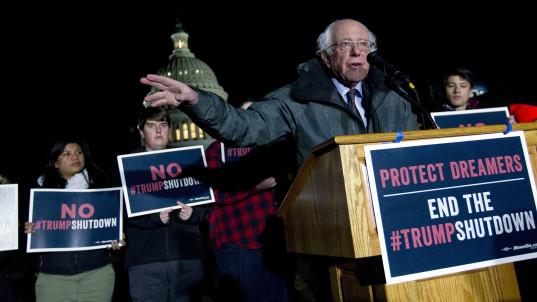 Bernie Sanders denounces 'outrageous' Trump ad