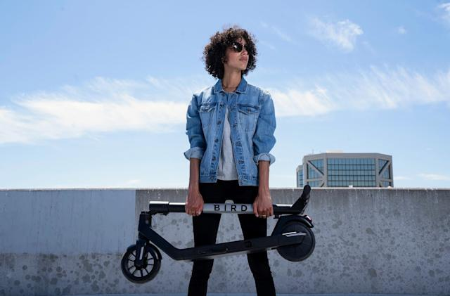 Bird releases more affordable, foldable Air electric scooter for $599