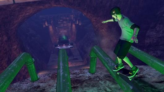 Tony Hawk's Pro Skater HD gleaming the cube on PC as well