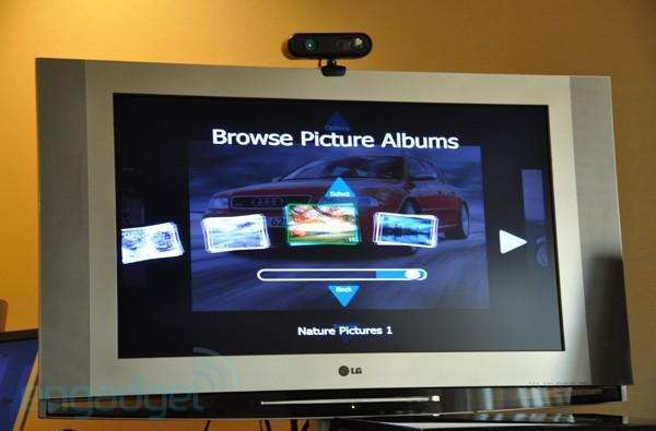 Kinect tech destined for TV-embedded greatness in 2011, HTPC integration later this year