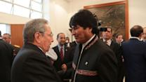 More than 30 heads of state attend Chavez funeral