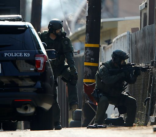 San Diego police officer fatally shot, another injured