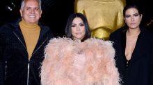 Cleo investe em plumas para pré-estreia em festival de filmes