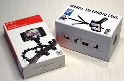 Photojojo's Telephoto Lens for iPhone 5 and Joby GripTight GorillaPod: Review and giveaway