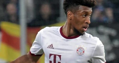 Foot - ALL - Bayern - Bayern Munich : Kingsley Coman est sorti blessé