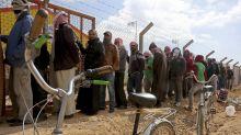UN finds 2 virus cases in Syrian refugee camp in Jordan