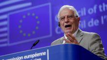 EU's top diplomat urges 'more robust strategy' toward China