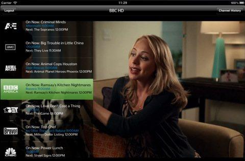 TWCable TV iPad app updated with a few more channels, brings back Discovery