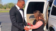San Francisco 49ers Player Don Jones Takes Special Needs Student to High School Prom