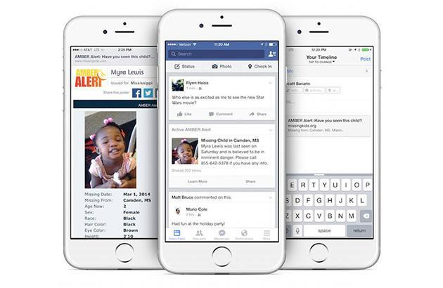 Facebook will alert you when kids go missing in your area