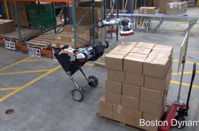 Boston Dynamics' new Handle robot heads to the warehouse