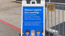 Wal-Mart stands its ground in the War on Masks