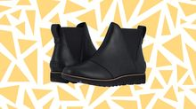 You'll actually look forward to the rain in these adorable Sorel waterproof booties — and they're up to half off