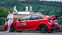 Watch as Honda Civic Type R sets lap record at Spa-Francorchamps