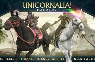 RIFT's Unicornalia event runs through May 29