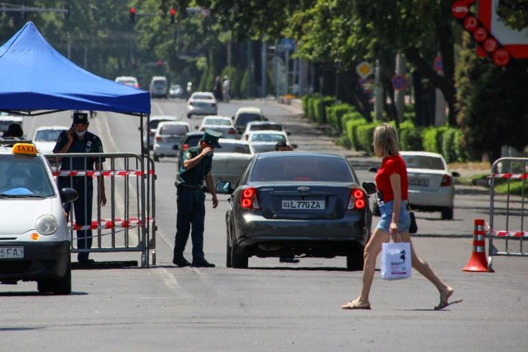 In Uzbekistan, citizens were from Friday again facing lockdown restrictions originally imposed in March but lifted gradually over the past two months (AFP Photo/Yuri KORSUNTSEV)