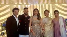 Virushka Mumbai Reception: Anushka Sharma and Kangana Ranaut hold each other's hands as they pose together