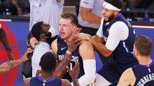 'Legendary': NBA world erupts over historic Luke Doncic moment
