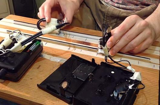 Scratching cassettes like vinyl records brings a new meaning to mixtapes