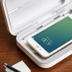 Worried About Germs? This Device Sanitizes Your Phone While you Charge It
