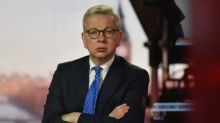 Brexit deal with EU now less likely but door still ajar for talks, Michael Gove says