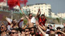 Watch: England fans trash an Ikea following win over Sweden