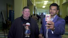 New Nats skipper Dave Martinez finds plenty of former teammates on 'Old Baseball Cards'