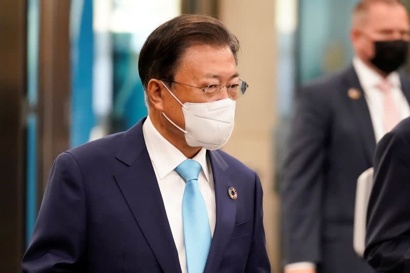 Image South Korea's Moon to attend COP26 climate talks, G20 summit