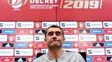 """Valverde: """"No podemos meter la cabeza en un agujero, hay que ganar"""""""