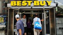 Best Buy shares plunge after company warns about gross margins