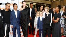 Angelina Jolie se lleva a sus seis hijos de estreno al Festival de Toronto