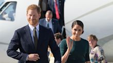 Who's who in the Duke and Duchess of Sussex's 11-strong entourage