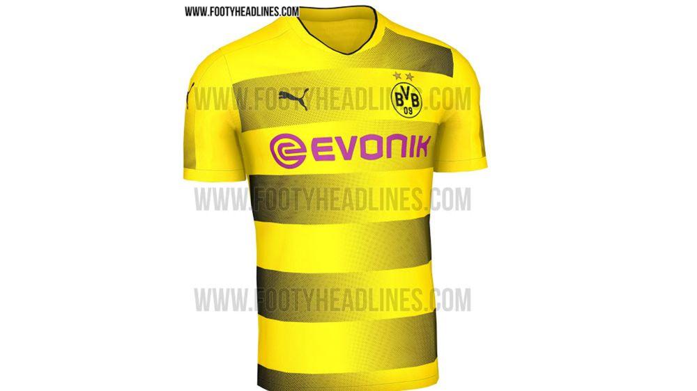 Trikot von Borussia Dortmund für nächste Saison geleaked