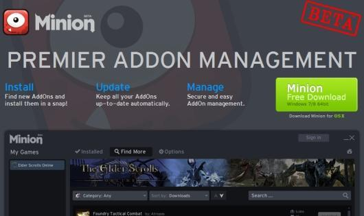 Minion rounds up Elder Scrolls Online addons