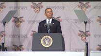 President Obama Addresses Graduates At West Point