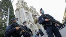 Weltweit Entsetzen über tödliche Messerattacke in Kirche in Nizza