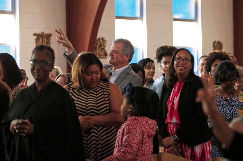 No hugs, handshakes as U.S. churches take new precautions against coronavirus