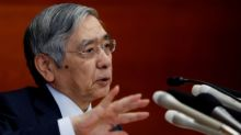 Bank of Japan's Kuroda vows further easing if price momentum lost