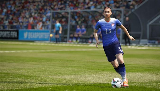 'FIFA 16' will feature women soccer players for the first time