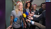Topless Activists On Trial Over Notre Dame Protest