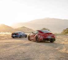 View Photos of the 2019 Ford Mustang Shelby GT350 vs. 2020 Toyota Supra