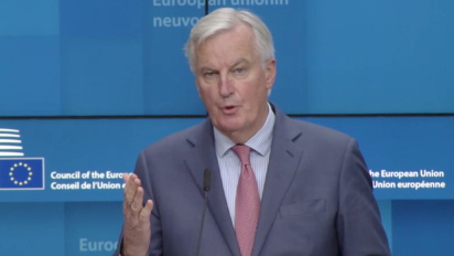 Barnier: Brexit deal will allow UK to 'take back control'