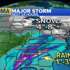 Major winter storm on the move