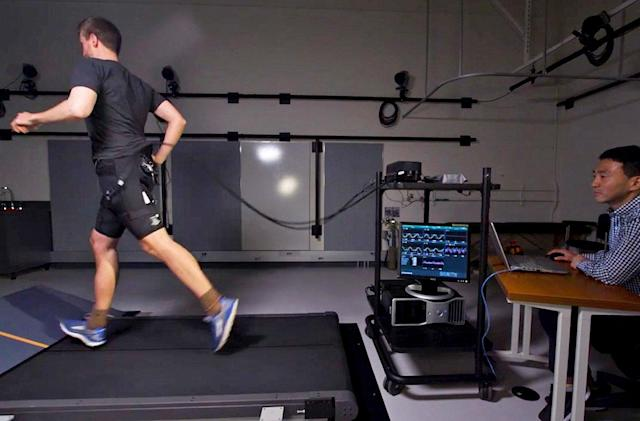 Robotic shorts can shave minutes off a marathon time