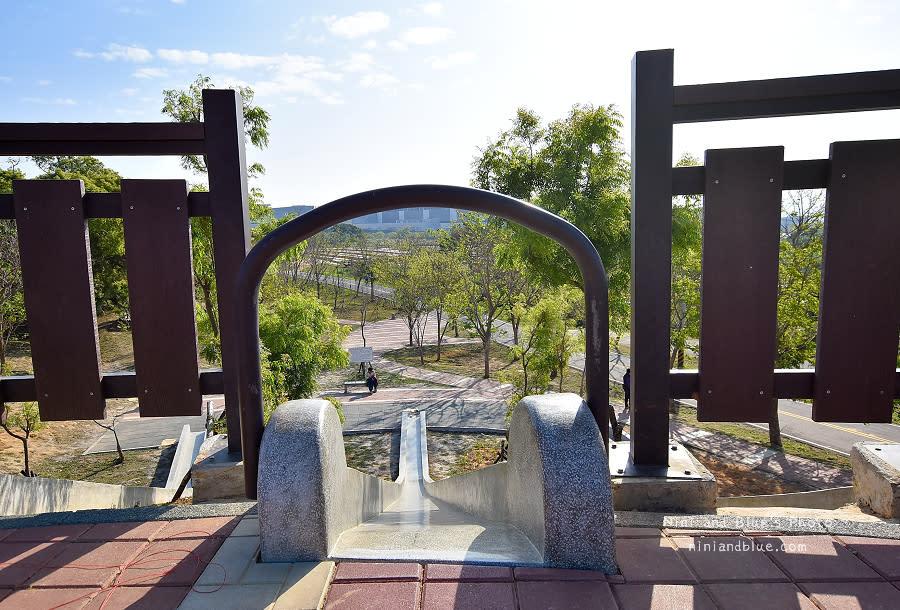 大雅中科公園|復古磨石子滑梯07