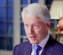 Bill Clinton jokes Trump will be 'stacking sandbags' around White House to stay in office amid dire polling