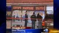 Diner shooting kills 2, wounds 1