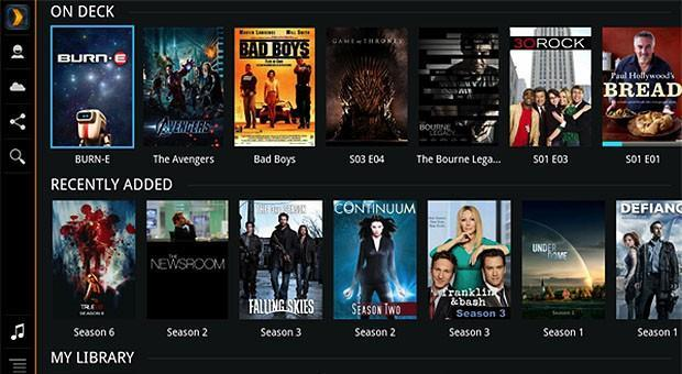 Plex for Google TV refreshed with dynamic layout, more big screen love