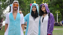 Unicorn Halloween costumes for pretending you're young again